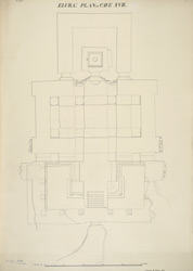 Ellora: Plan of Cave XXIII